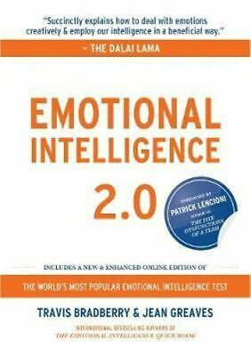 NEW Emotional Intelligence 2.0 By Travis Bradberry Hardcover Free Shipping