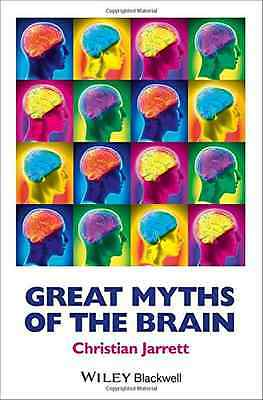 Great Myths of the Brain (Great Myths of Psychology) - Paperback NEW Christian J