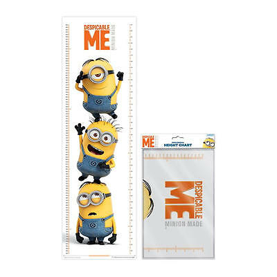 Despicable Me Stacked Minions 1.6 Metre Height Chart Wall Poster 5 Foot 3 Kids