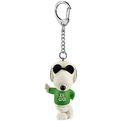 Schleich Peanuts Joe Cool Keychain NEW