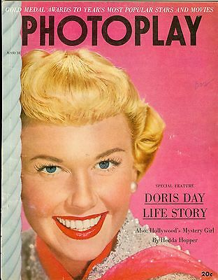 Doris Day cover PHOTOPLAY magazine 1952