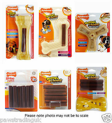 Nylabone Romp n Chomp Range of Dog Toys power chewers nylon powerful chew toy