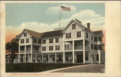 Old Orchard Beach Me Ocean House Cottages C1910 Postcard