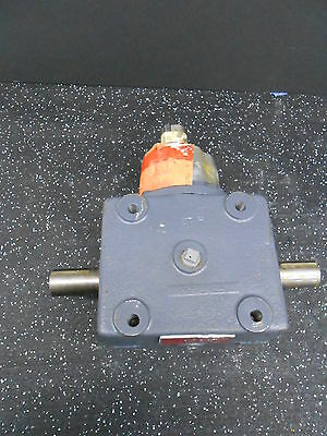 Browning 12Hb1-Lr20 2:1 Ratio Double Shaft Bevel Gear Box Reducer