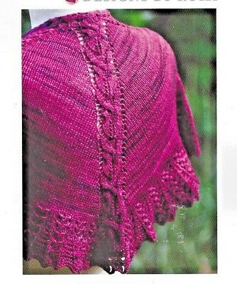AWESOME SPRING FLING T-SHIRT to KNIT in FINGERING WEIGHT YARN by FIESTA YARNS