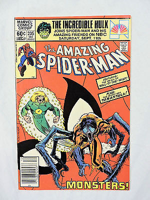 THE AMAZING SPIDER-MAN #235 Marvel Comic Book (VF+)