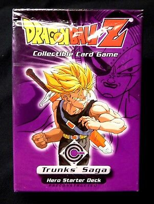 Dragonball Z Trunks Saga Hero Preconstructed Starter Deck  2001