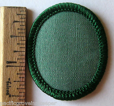 Oval 1970's Girl Scout BLANK TROOP CREST Patch Troop ID Create-Your-Own NEW