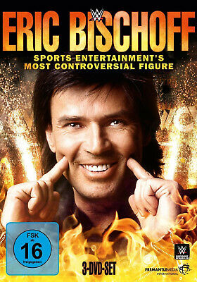 WWE WCW ERIC BISCHOFF Sports Entertainment's Most Controversial Figure 3x DVD