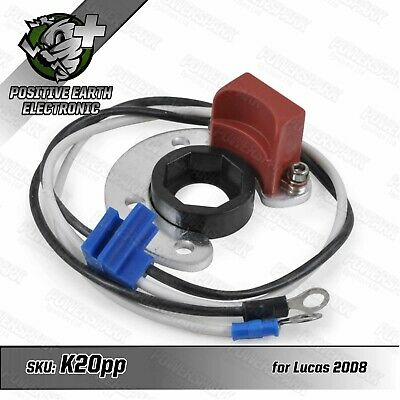 Lucas 20D8 Positive Earth Electronic Ignition Kit Daimler SP 250 Dart 1959-69