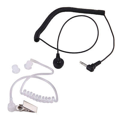 Acoustic Air Tube Earpiece Headset For Kenwood Wouxun BAOFENG UV5R BF888s A125