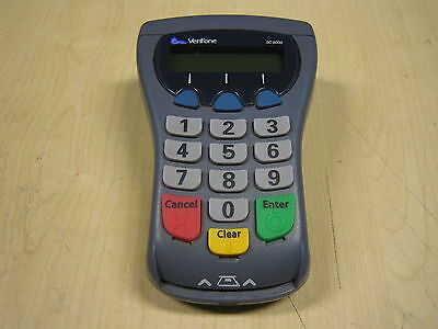 Verifone SC5000 sc 5000 Chip and Pin Terminal + cable + power supply