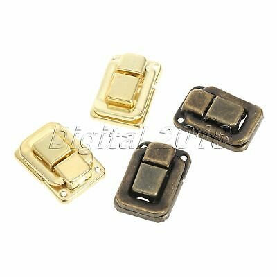 6Pcs Antique Jewelry Box Wood Suitcase Hasp Latch Toggle Decoration Useful Style