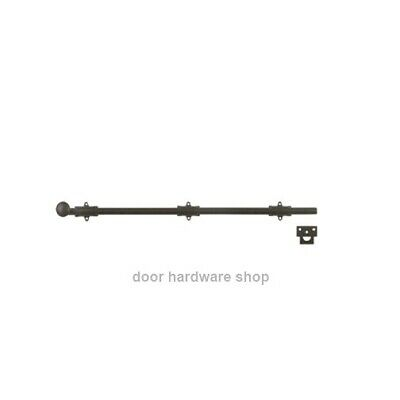 Oil Rubbed Bronze 36 Inch Solid Brass Surface Bolt French Door
