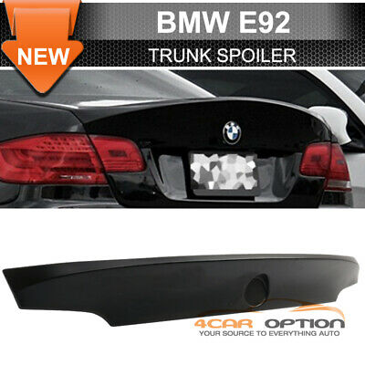 07-13 BMW 3-Series E92 M3 CSL Style Unpainted Trunk Spoiler - ABS