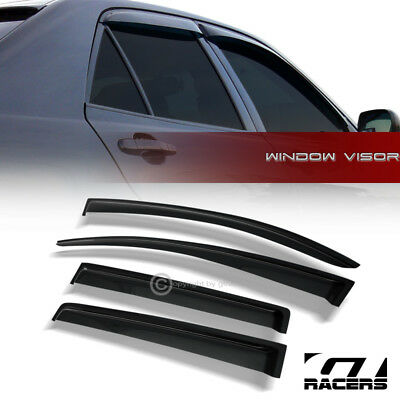 For 2013-2016 Chevy Spark Sun/Rain Guard Vent Shade Deflectors Window Visors 4Pc