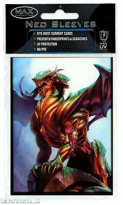 Max Protection Neo Sleeves For Pokemon/MTG Cards :: Sentinel :: Pkt 50