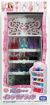 Takara Tomy Licca Doll Shoe Rack  doll not included  (822622)