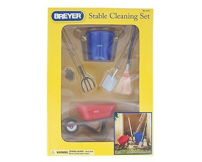 Breyer Traditional/ classic size  Stable Cleaning Set  - Horse not included