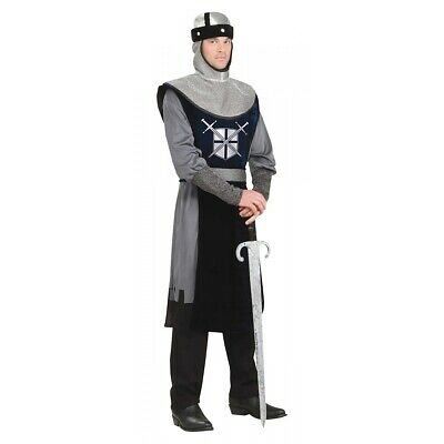 Knight Costume Adult Mens Medieval Renaissance Halloween Fancy Dress