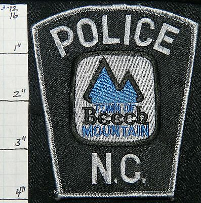 North Carolina, Beech Mountain Police Dept Patch