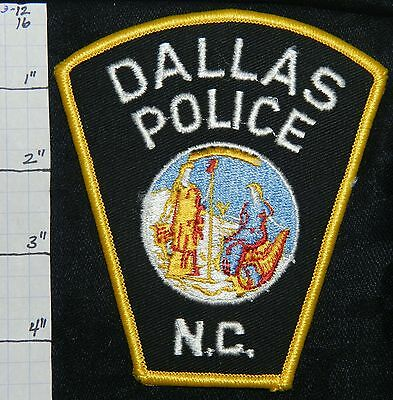 North Carolina, Dallas Police Dept Patch