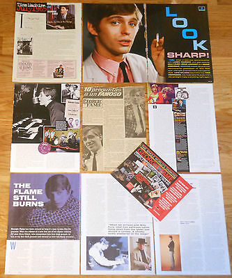 GEORGIE FAME clippings 1960s/10s magazine articles cuttings photos
