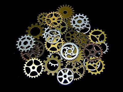 Steampunk Cyberpunk Jewellery Cogs & Gears Watch Parts Craft Arts Jewellery ML