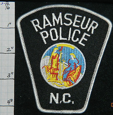 North Carolina, Ramseur Police Dept Patch