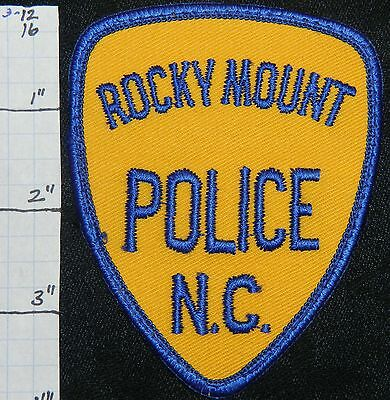 North Carolina, Rocky Mount Police Dept Patch