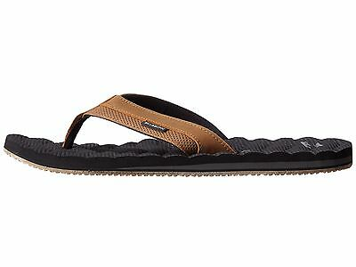 Billabong Dunes Luxury Leather Thongs, Flip Flops. Size 9 - 13. RRP $49.99. NWT.