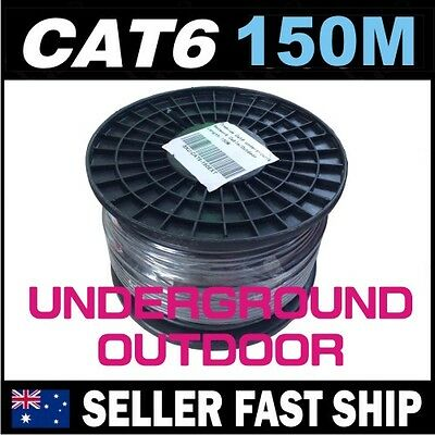 150m Cat6 Underground Outdoor Outside Gigabit Network LAN Cable Home House