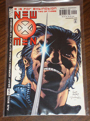 X-Men #115 Vol2 Marvel Comics Wolverine August 2001
