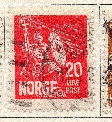 Norway 1930 Early Issue Fine Used 20ore. 055065