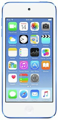Apple iPod Touch 6th Generation 4 Inch 8MP 16GB - Blue.