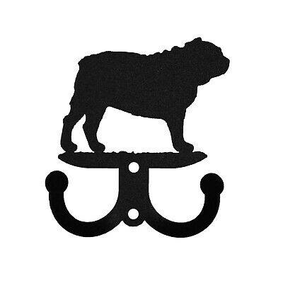 SWEN Products BULL DOG Metal 2 Hook Key Chain Holder Hanger