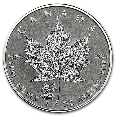 CANADA 5 Dollars Argent 1 Once Maple Leaf 2016 Marque privée Panda 1 Oz silver