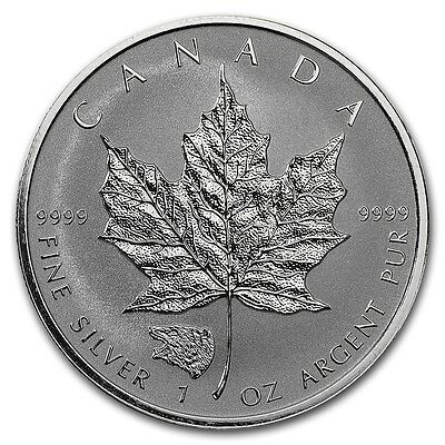 CANADA 5 Dollars Argent 1 Once Maple Leaf 2016 Marque privé Grizzly 1 Oz silver