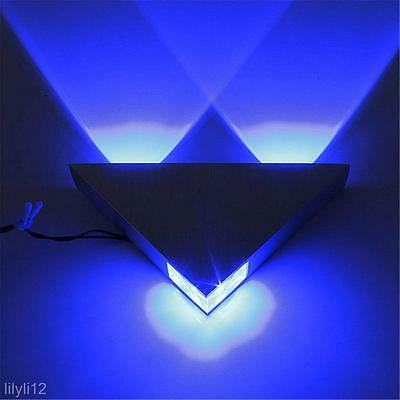 Modern 3W LED Triangle Wall Light Lamp Restroom Bedroom Wall Sconce Lamp Fixture