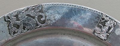 Rare Circa 1970 Guatemala Sterling Silver Esso Energy Co Central American Salver
