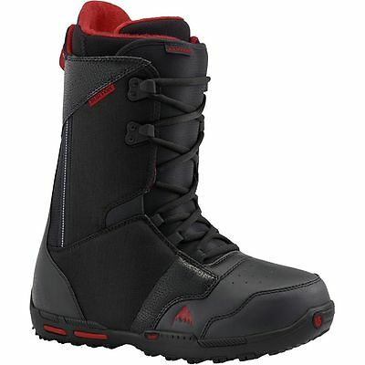 2016 NWT MENS BURTON RAMPART SNOWBOARD BOOTS $210 black brick thinsulate