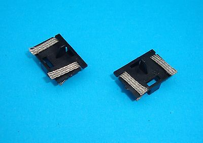 BRAND NEW MICRO SCALEXTRIC Guide Blade Plates & Pick-up Braids Brushes REF W1573
