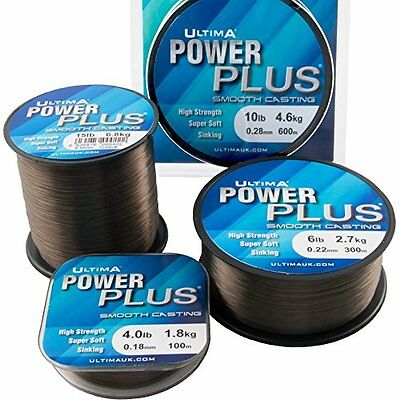 ULTIMA Power Plus Smooth Casting Fishing Line 110m  - All Breaking Strains