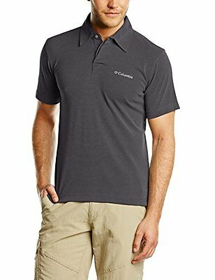 Columbia Sun Ridge Polo, Uomo, Nero (011), L