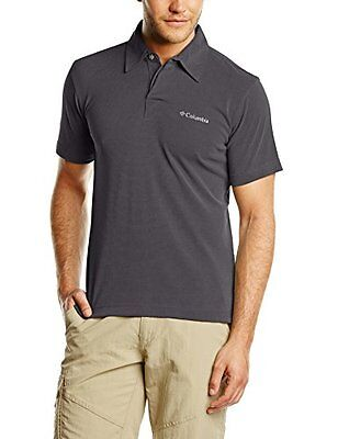 Columbia Sun Ridge Polo, Uomo, Nero (011), M