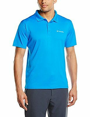 Columbia Zero Rules Polo, Uomo, Blu (431), M