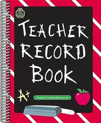 **NEW** - Teacher Record Book (Spiral-bound) ISBN9781576901199)