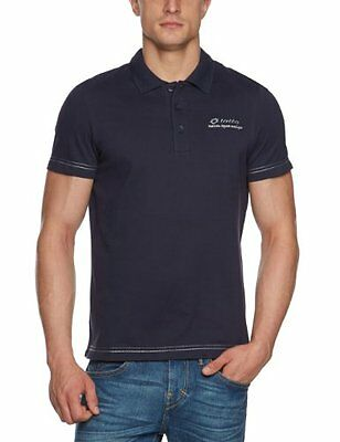 Lotto Sport, Polo Uomo Doug PQ BS, Blu (navy), S