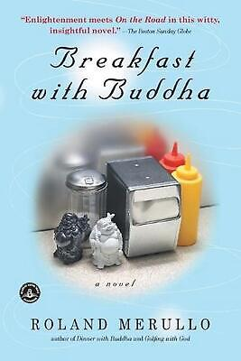 Breakfast with Buddha by Roland Merullo (English) Paperback Book Free Shipping!