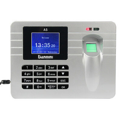 Hot LCD 2.4'' TFT Screen Biometric Time Recording Fingerprint Attendance Machine